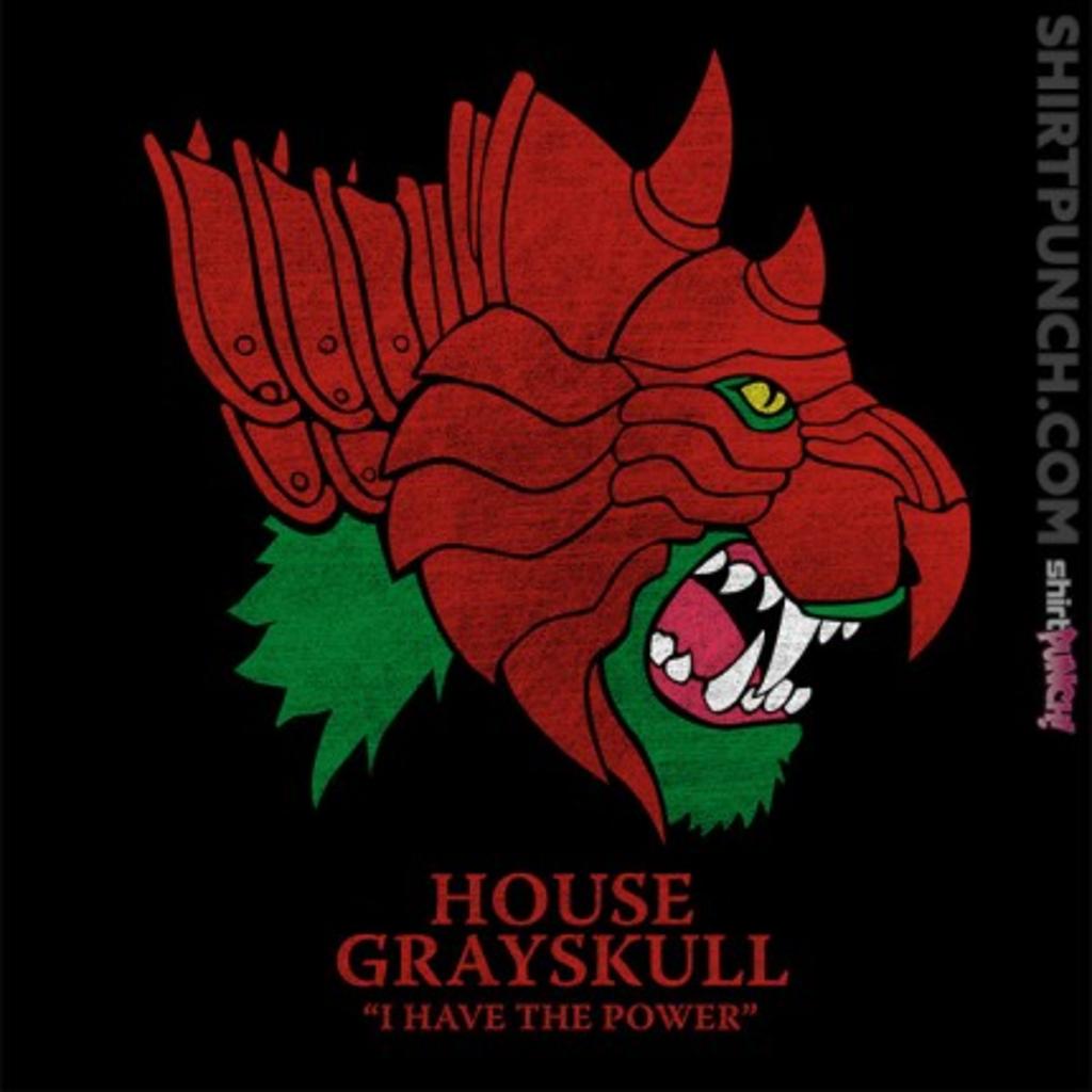 ShirtPunch: House of Grayskull