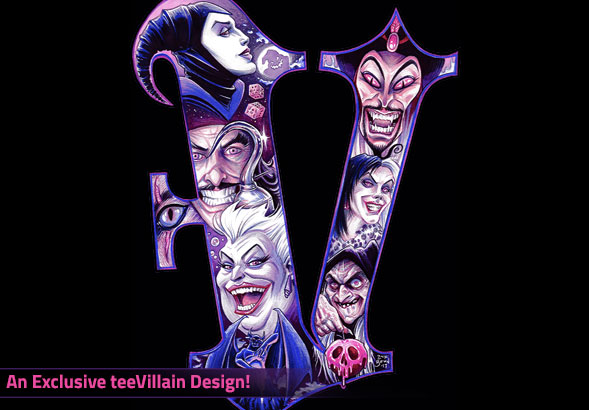 teeVillain: V is for Villain