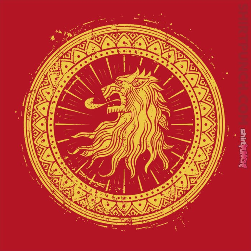 ShirtPunch: Seal Of Lions
