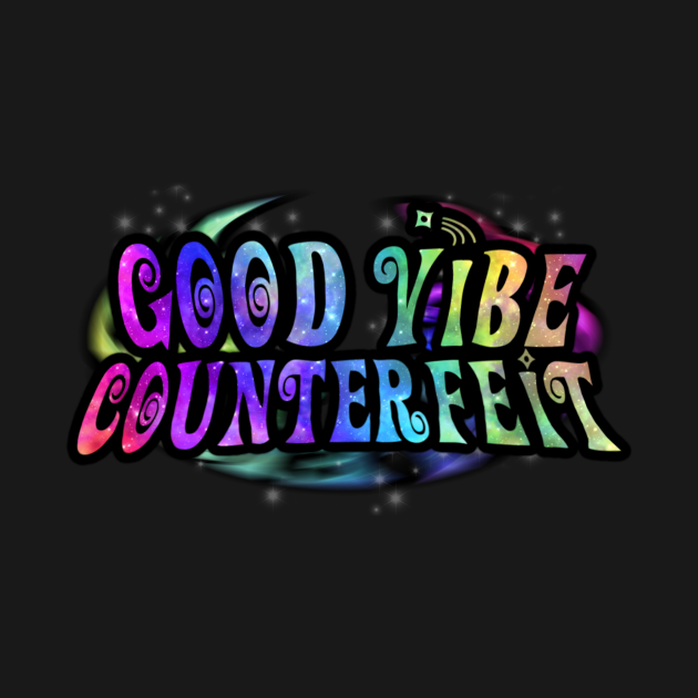 TeePublic: Good Vibe Counterfeit Logo