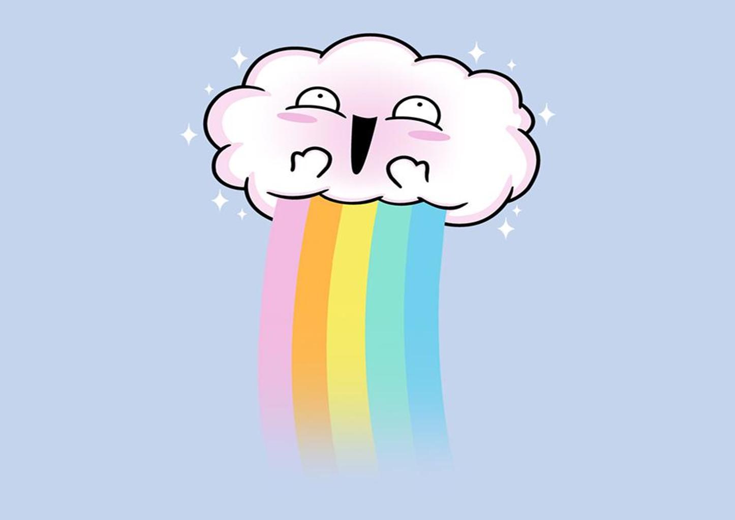 TeeFury: Kawaii Cloud!