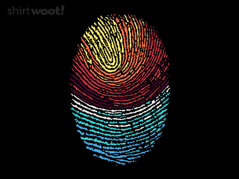 Woot!: Fingerprint Sunset