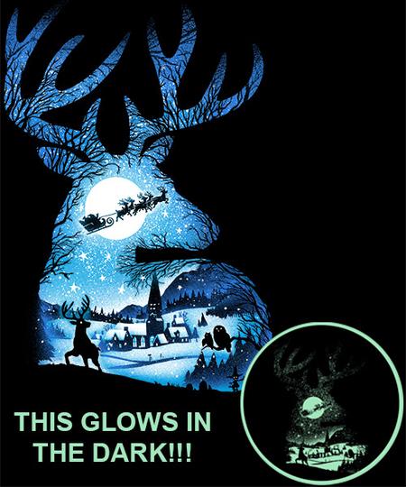 Qwertee: Christmas Reindeer