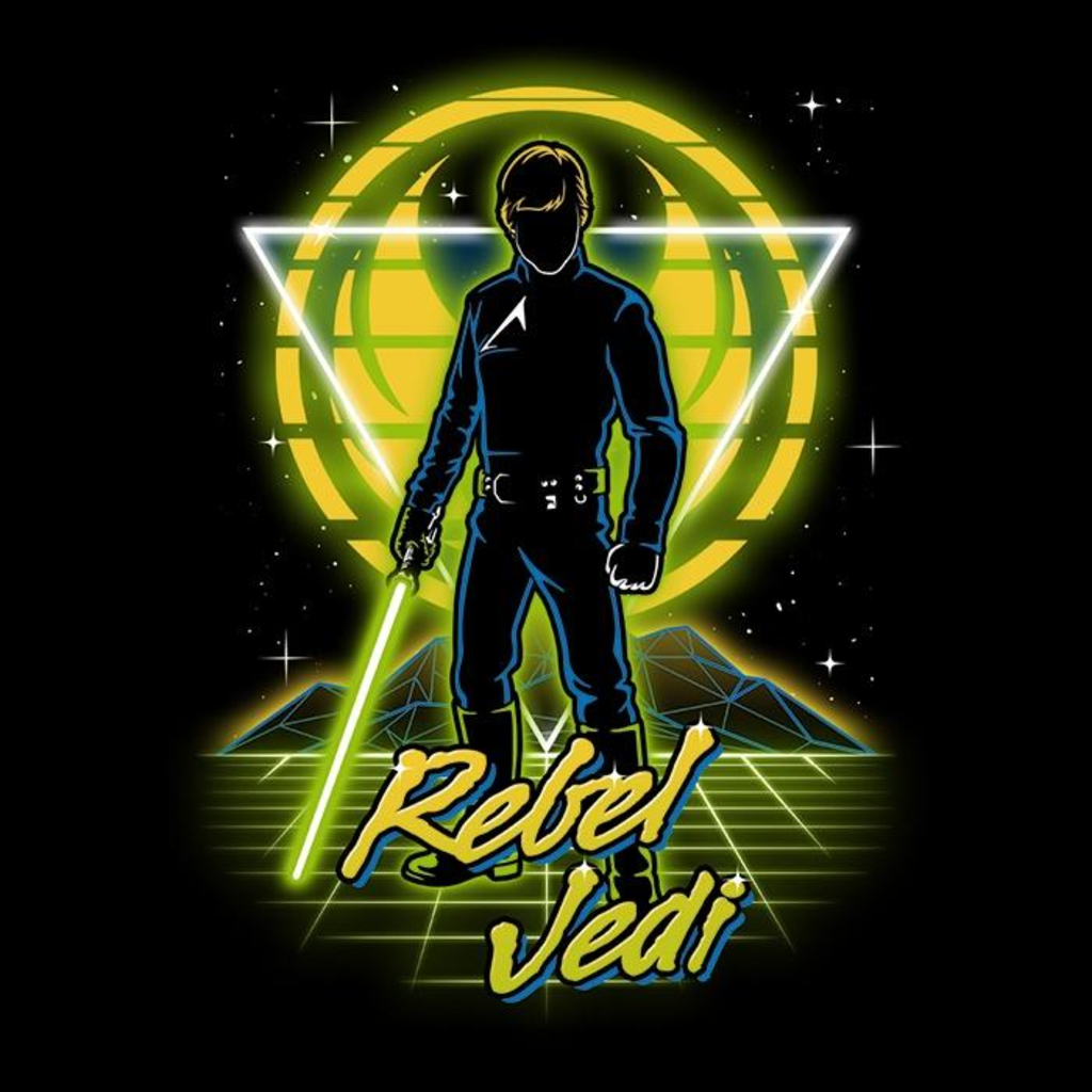 Once Upon a Tee: Retro Rebel Jedi