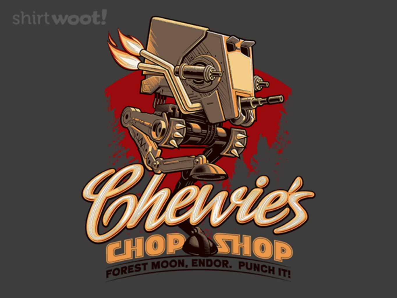 Woot!: Chewie's ChopShop - $15.00 + Free shipping