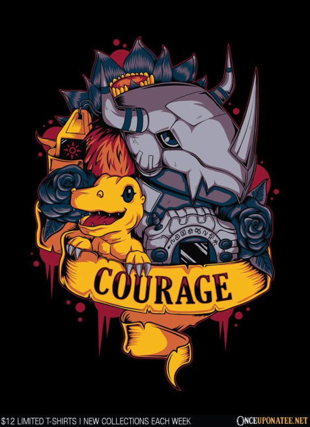 Once Upon a Tee: Courage Power