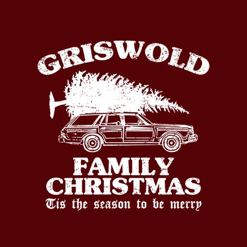 Five Finger Tees: Griswold Family Christmas T-Shirt