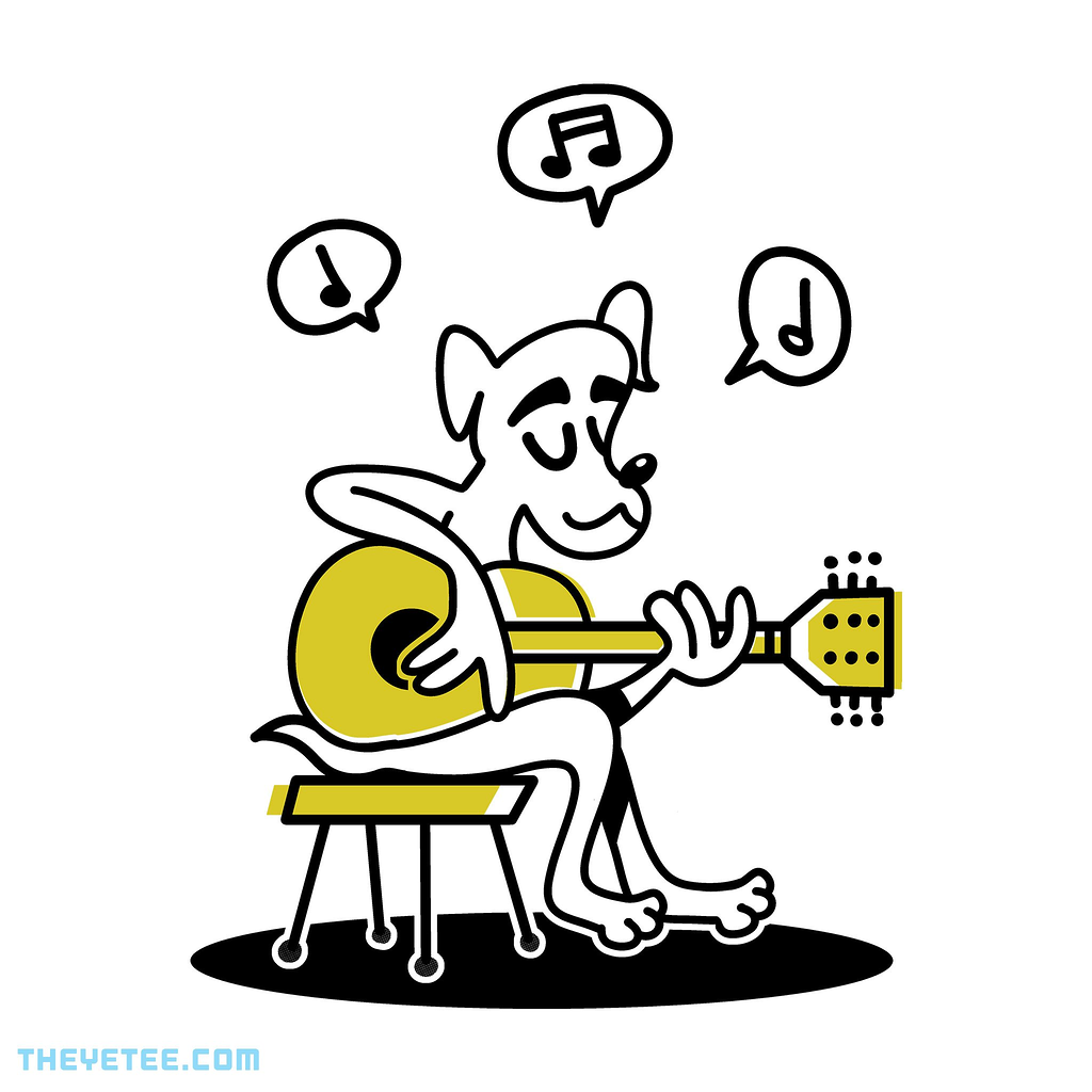 The Yetee: Chill Guitar