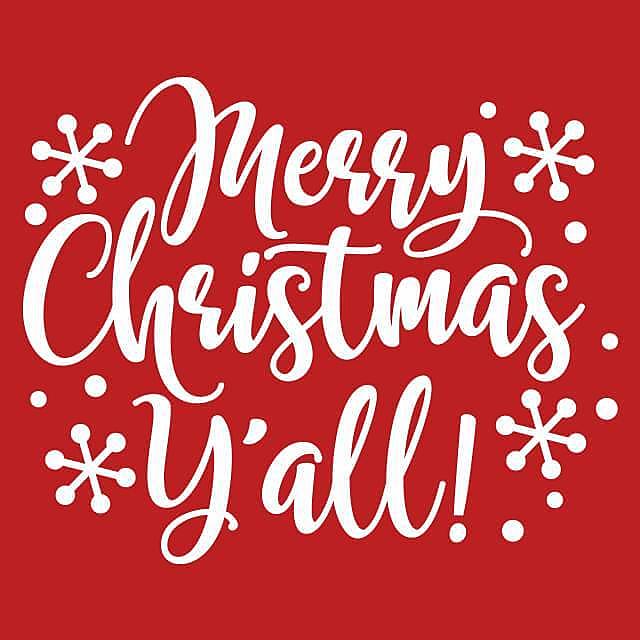 Textual Tees: Merry Christmas Ya'll