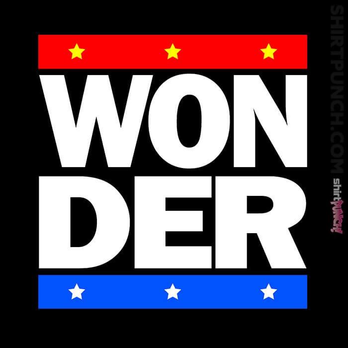 ShirtPunch: Won D E R