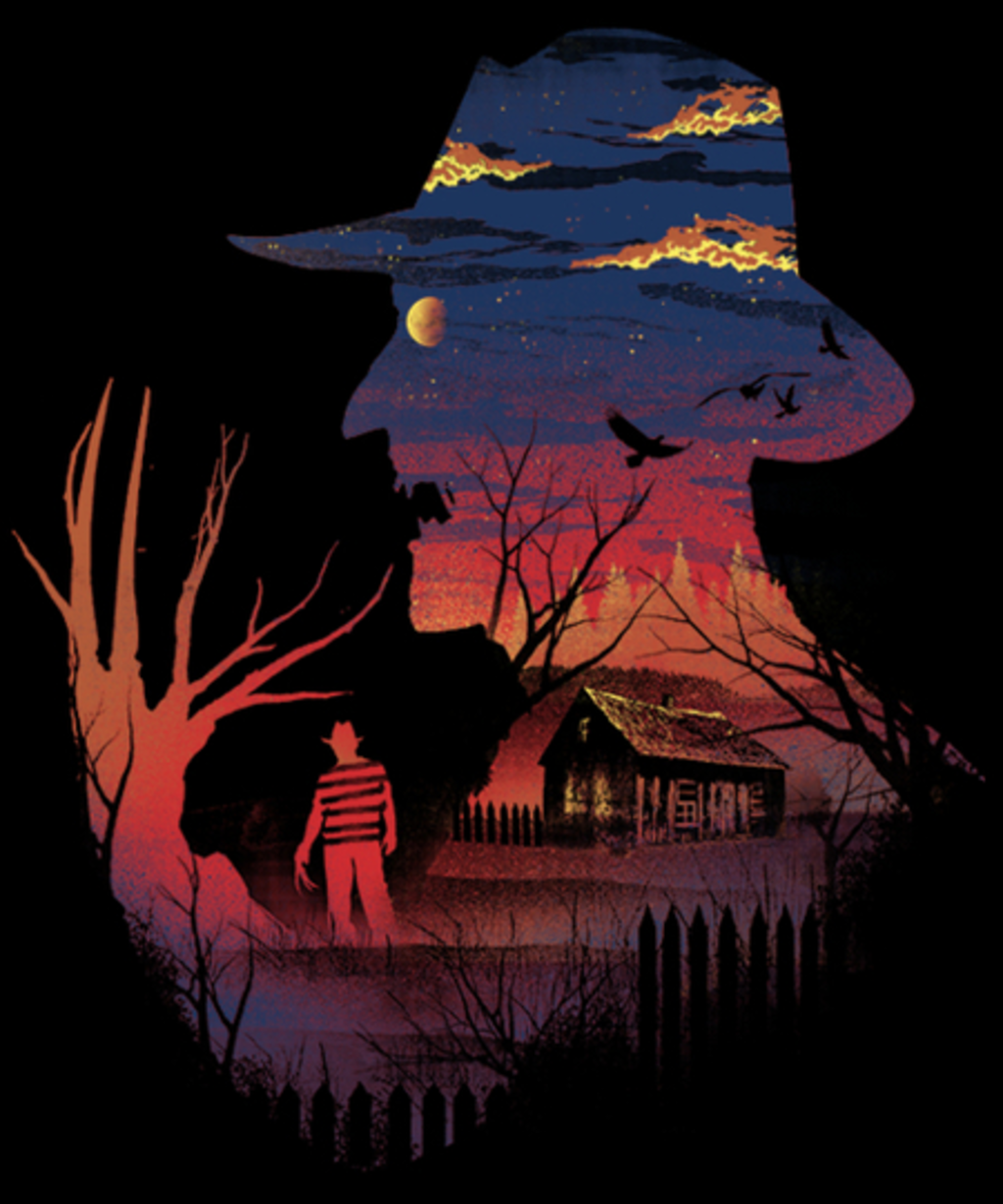 Qwertee: Nightmare on the Street