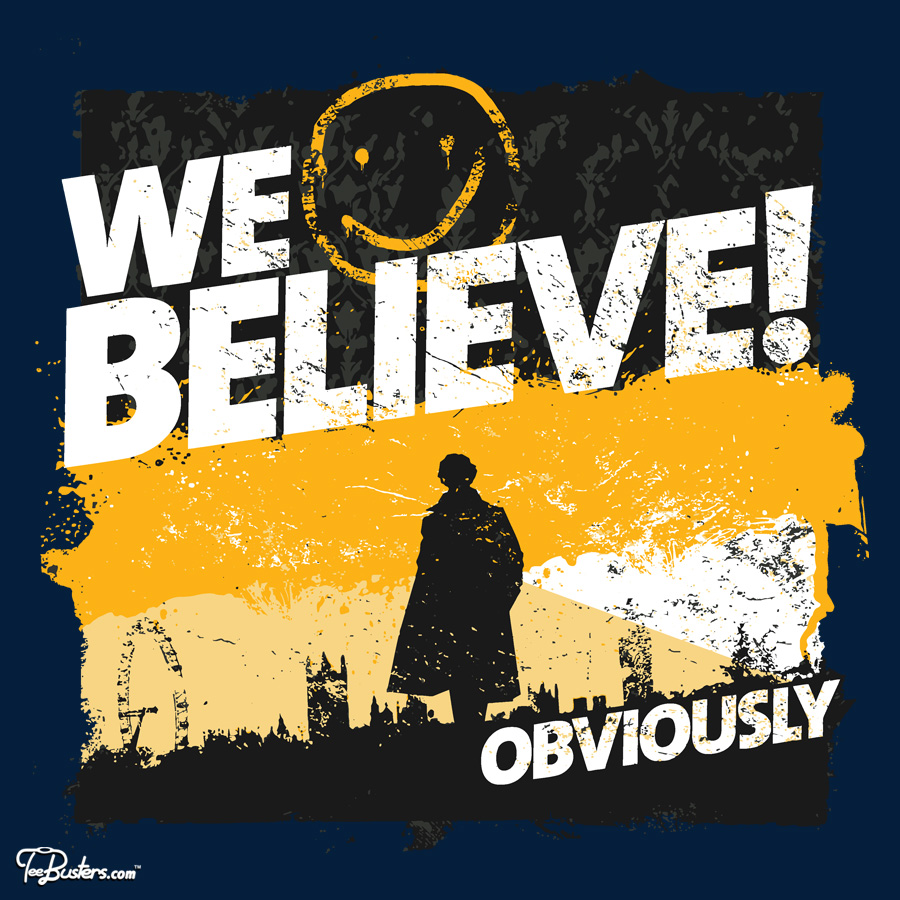TeeBusters: We believe