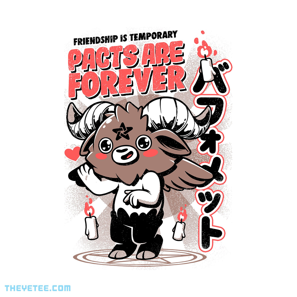 The Yetee: Pacts Are Forever