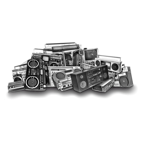 NeatoShop: B&W Boombox