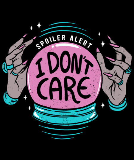 Qwertee: I Don't Care