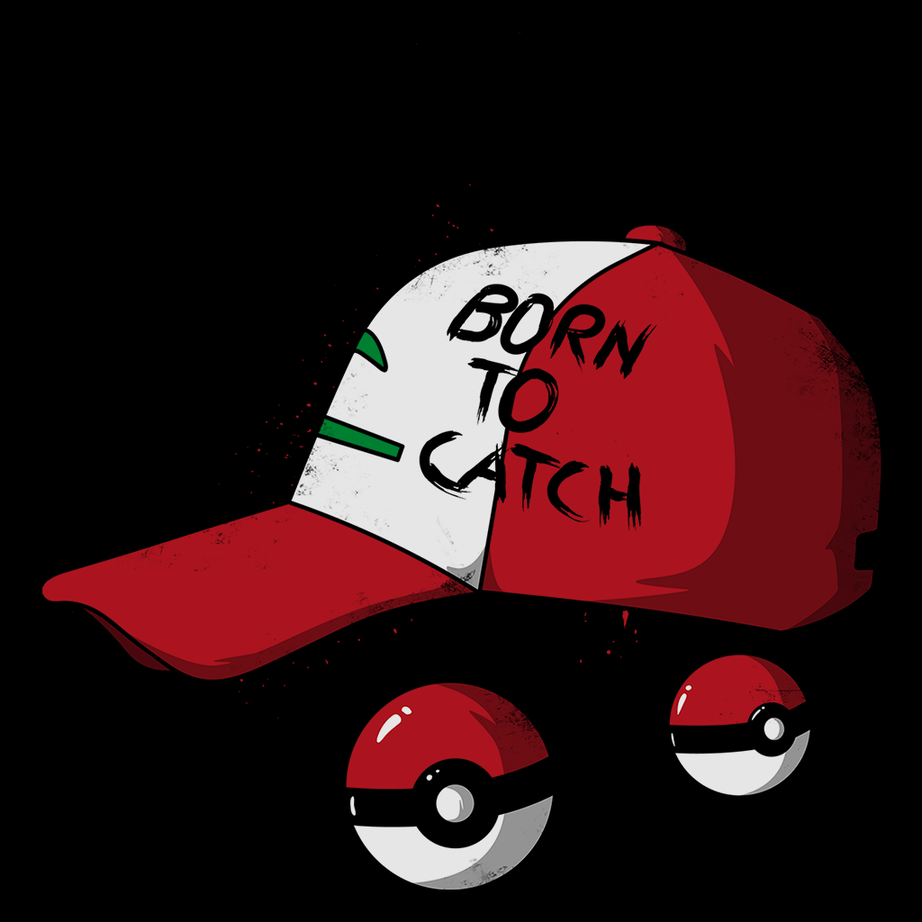 Pop-Up Tee: Born to Catch