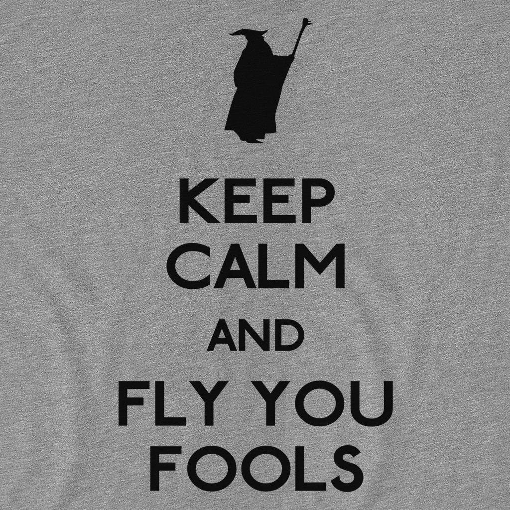 Pop-Up Tee: Keep Calm You Fools