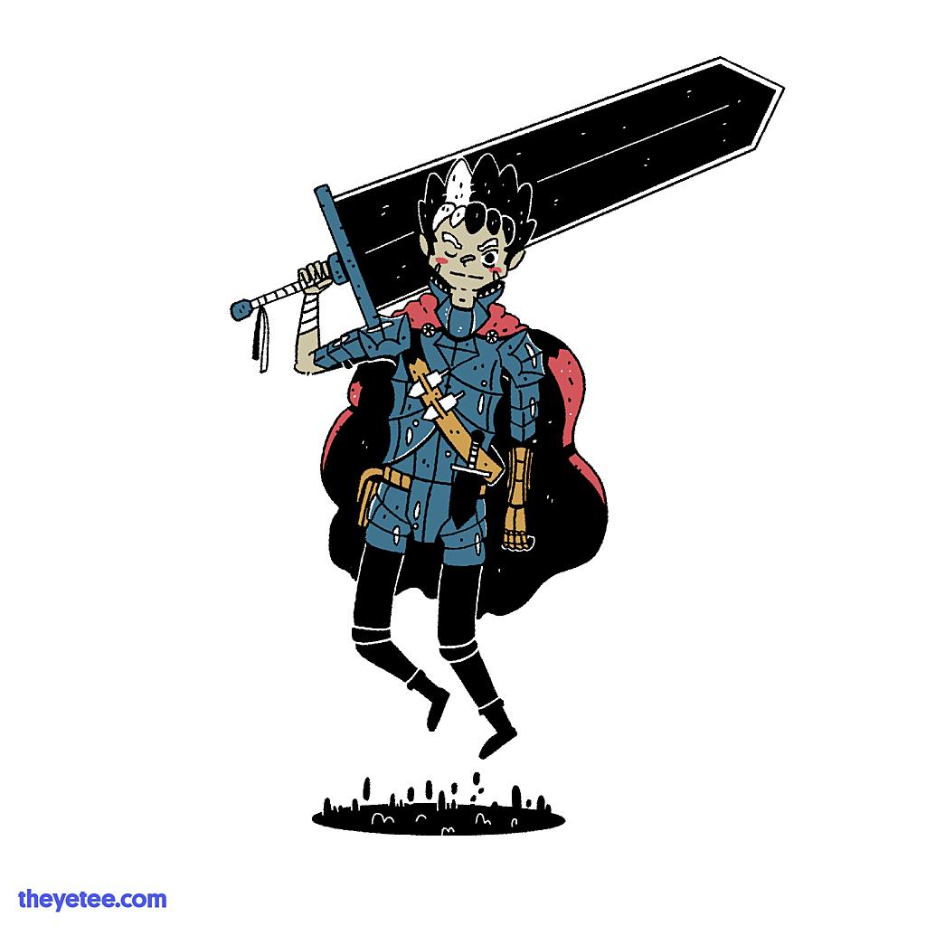 The Yetee: The Black Swordsman