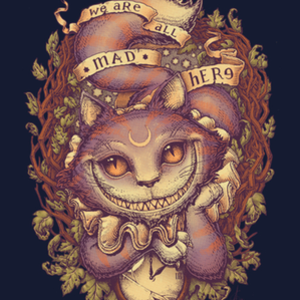 Qwertee: Cheshire Cat