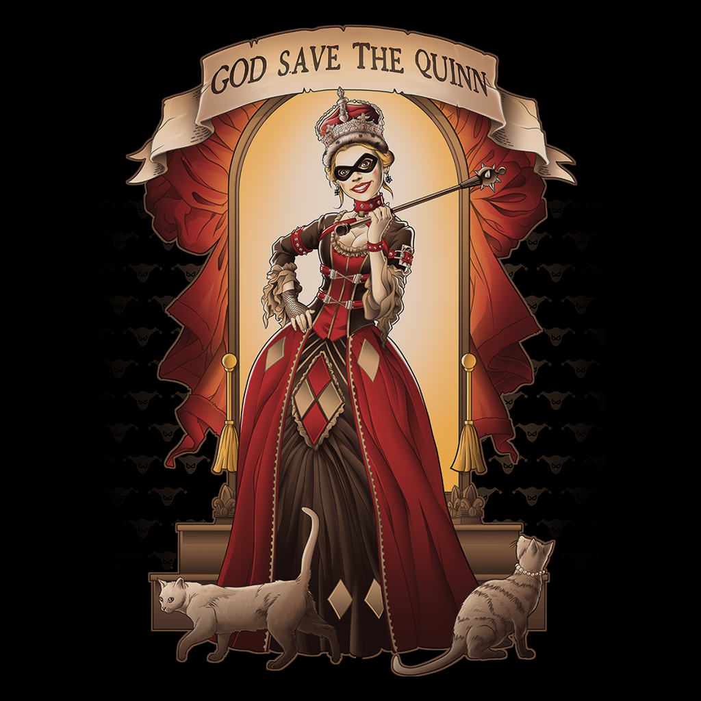 Pop-Up Tee: God Save The Quinn