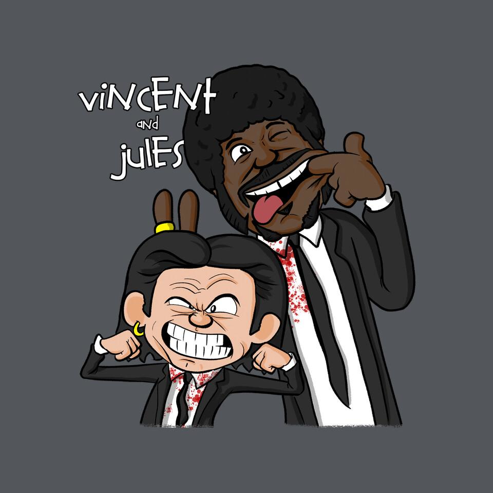 TeeFury: Vincent and Jules