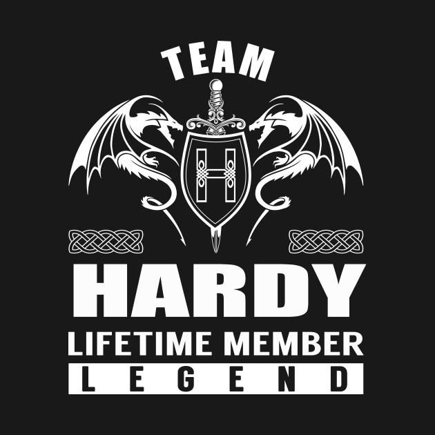 TeePublic: Team HARDY Lifetime Member Legend