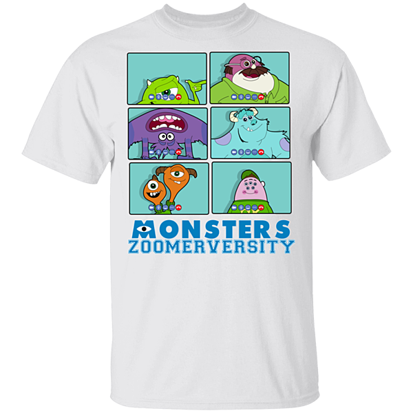Pop-Up Tee: Monsters Zoomerversity
