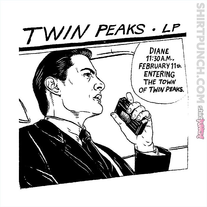 ShirtPunch: Twin Peaks LP