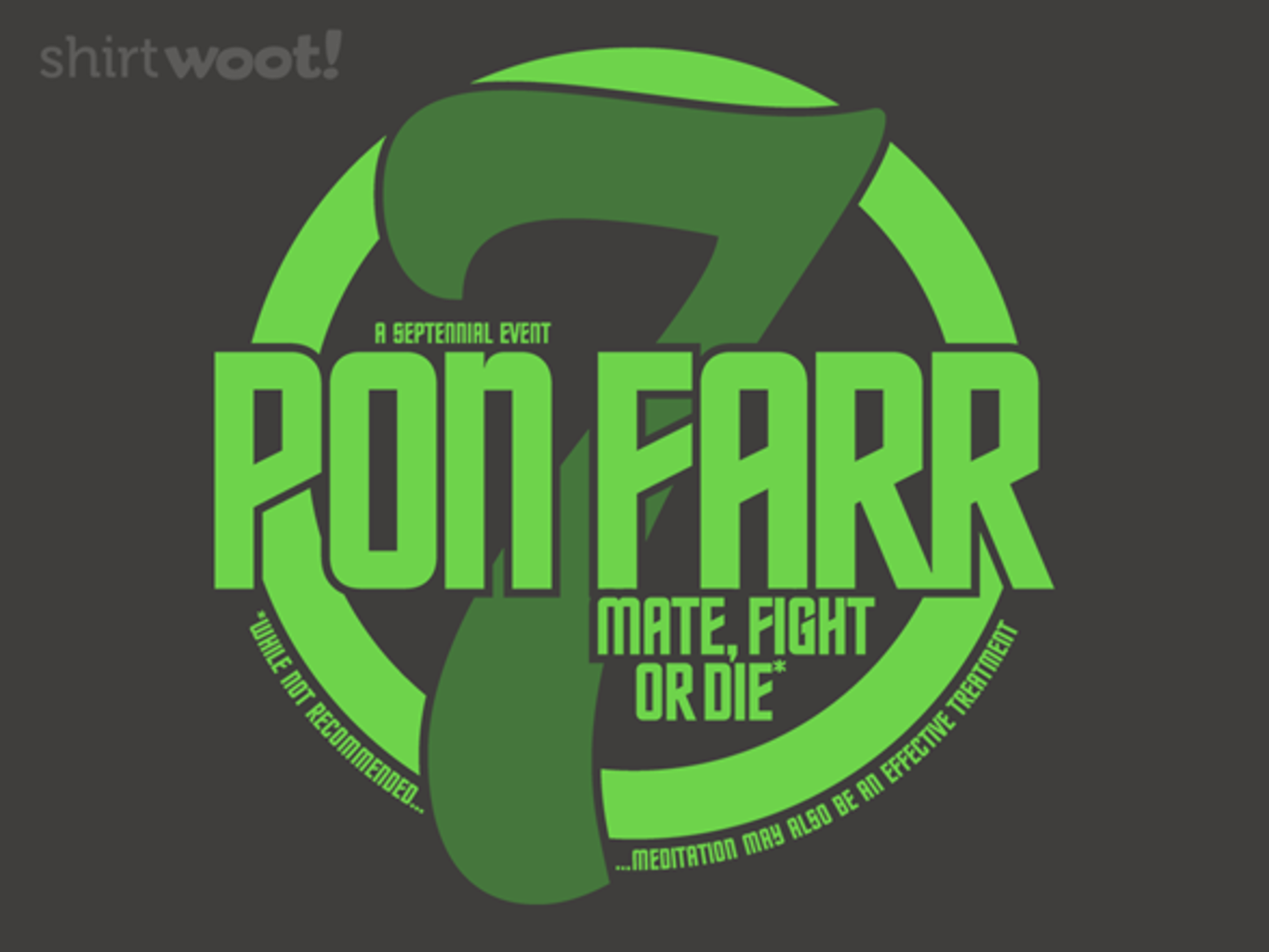 Woot!: Mate, Fight, Or Die