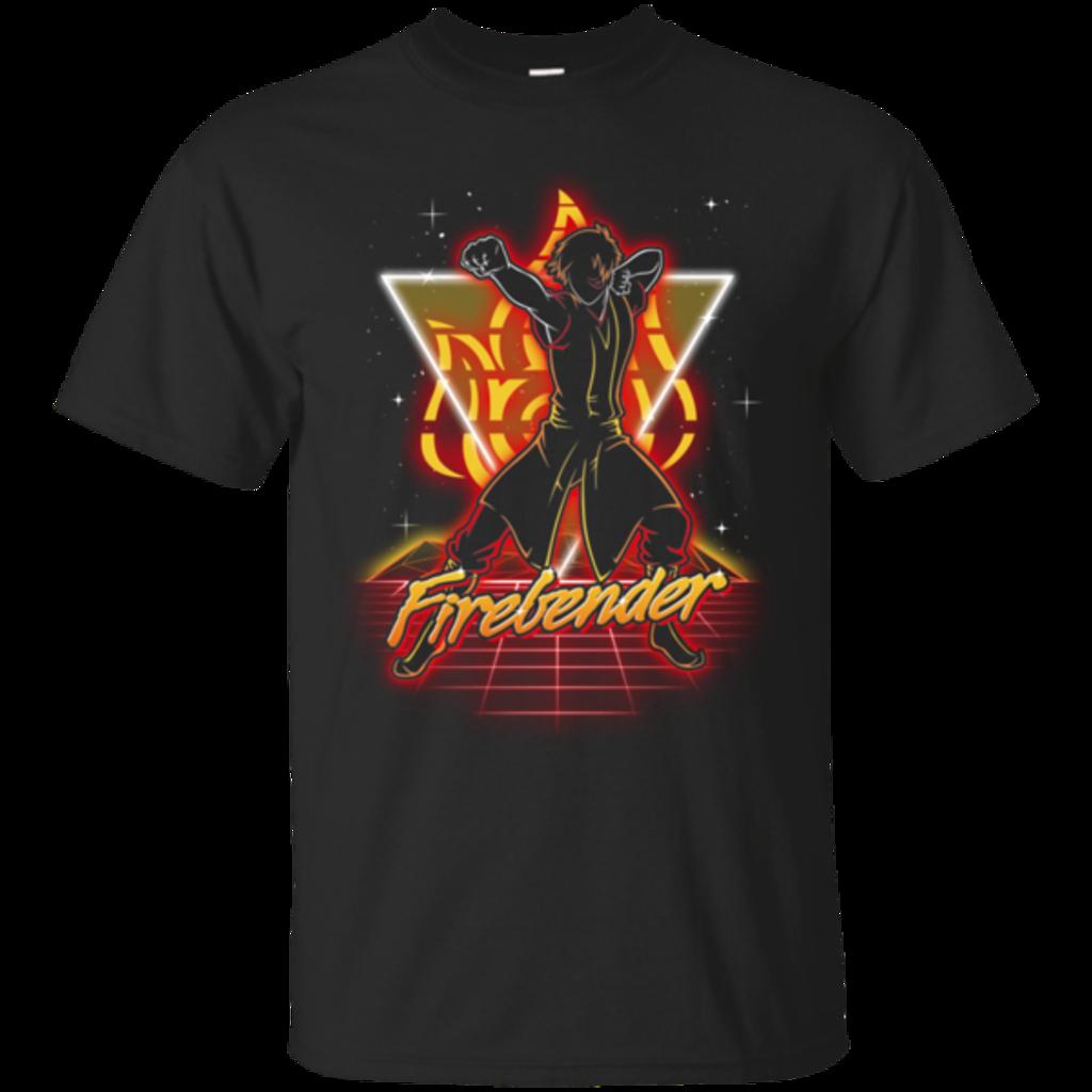 Pop-Up Tee: Retro Firebender