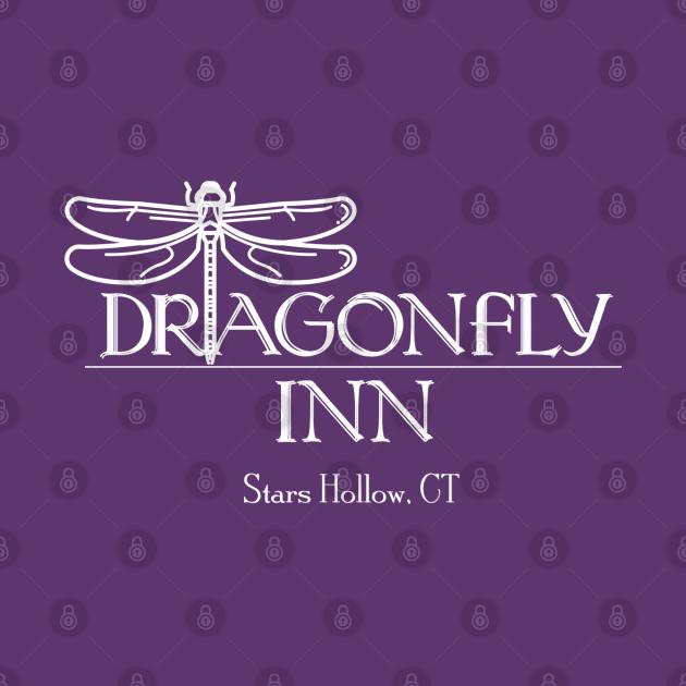 TeePublic: Dragonfly Inn, Stars Hollow, CT