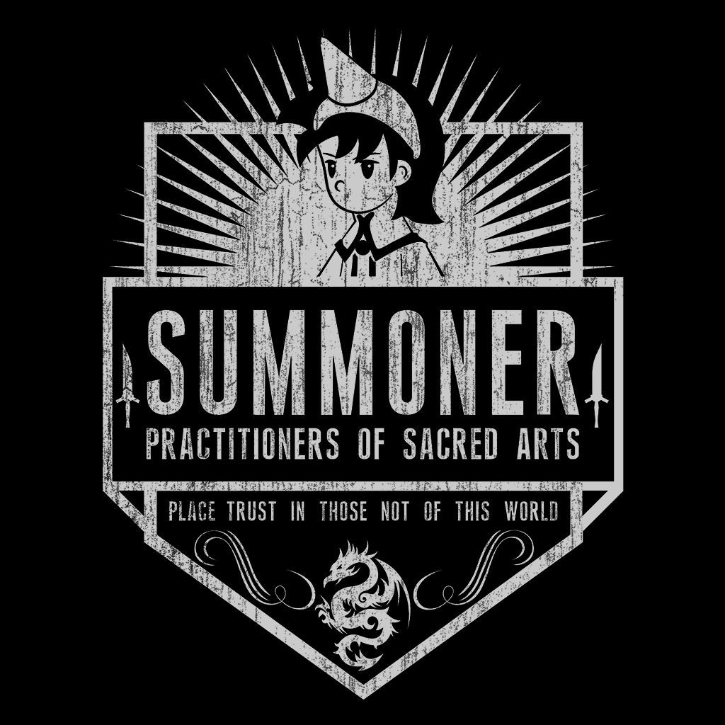Pop-Up Tee: Summoner
