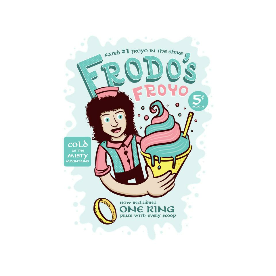 TeeFury: Frodo's Froyo