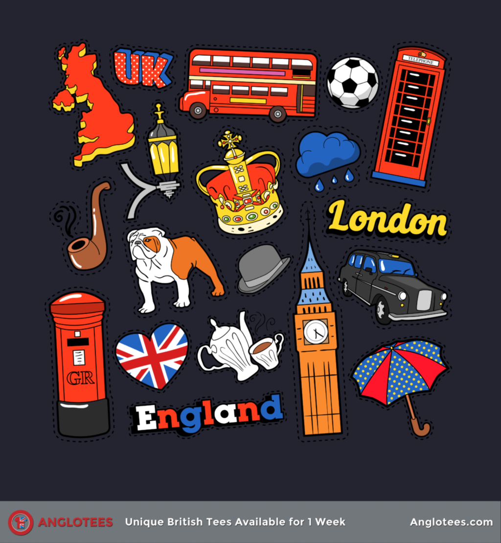 Anglotees: UK Scrapbook