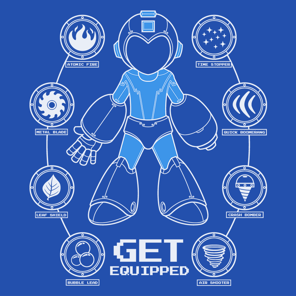 Pop-Up Tee: Get Equipped