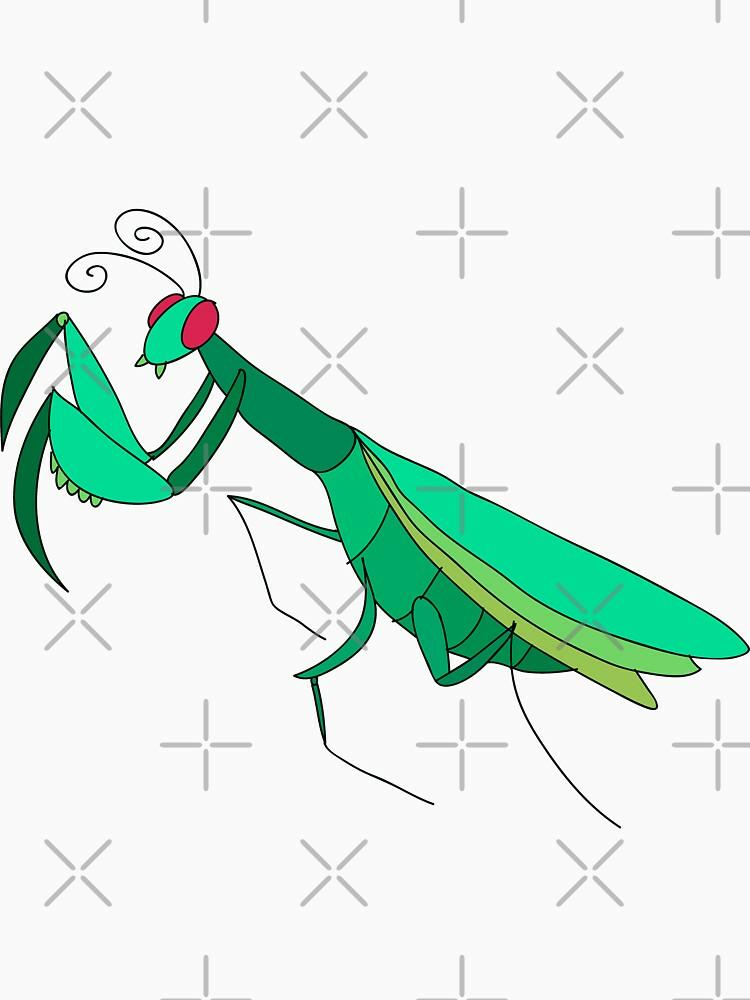 RedBubble: Cute Praying Mantis