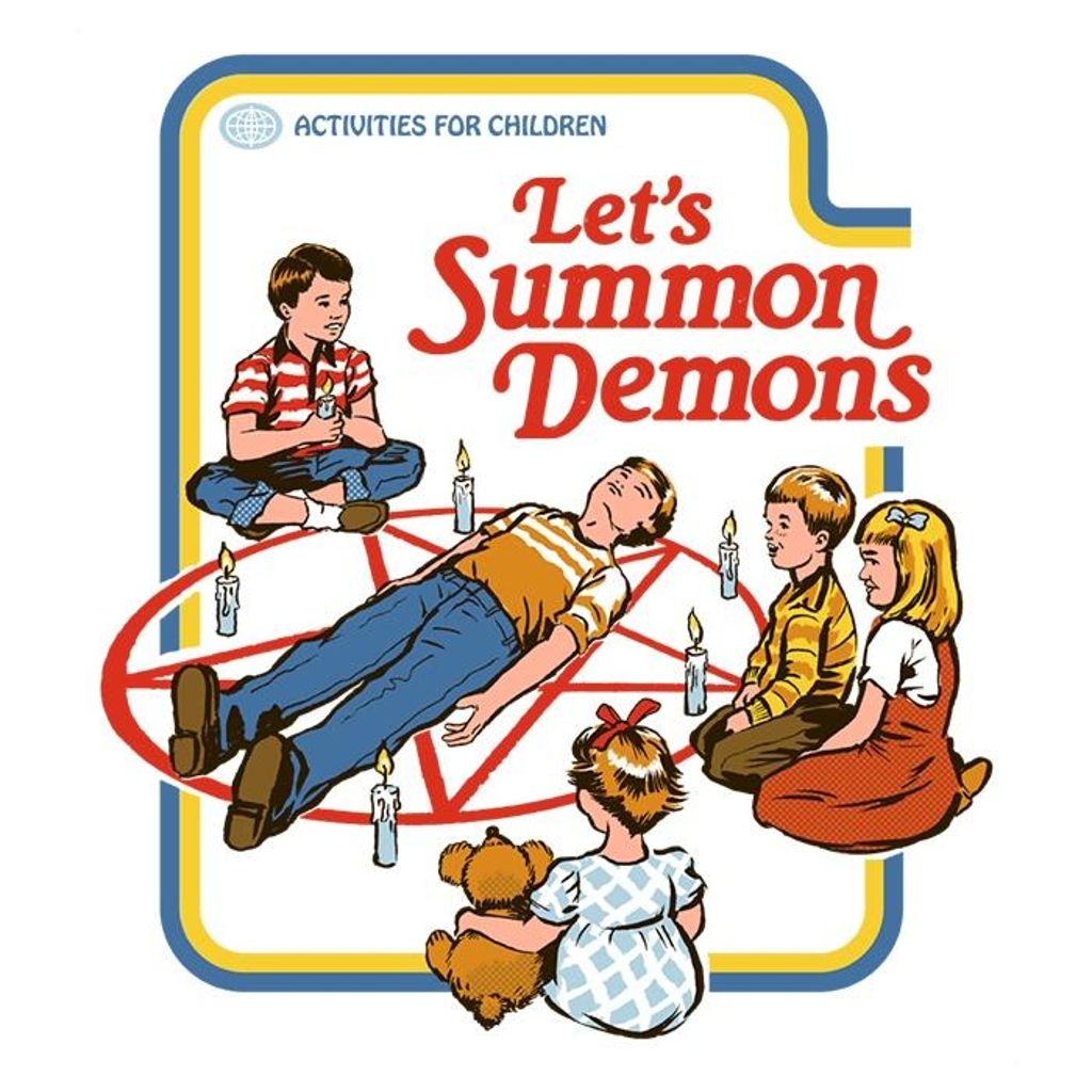 Once Upon a Tee: Let's Summon Demons