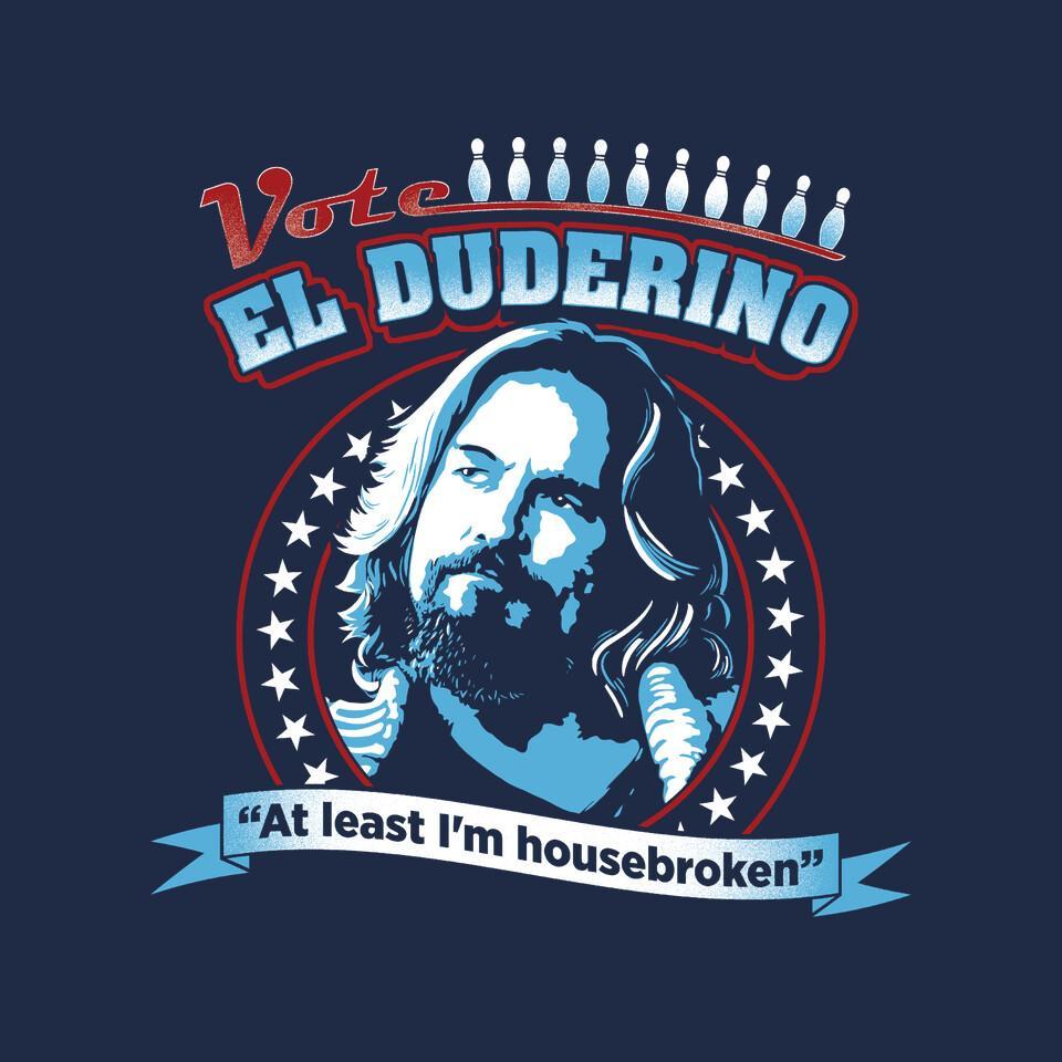 TeeFury: Vote El Duderino