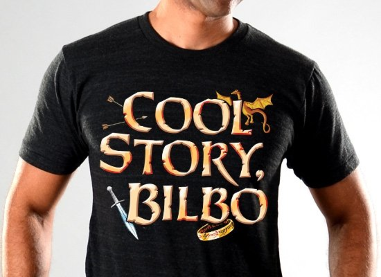 SnorgTees: Cool Story, Bilbo Tri-Blend