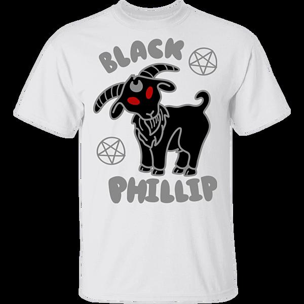 Pop-Up Tee: Black Phillip