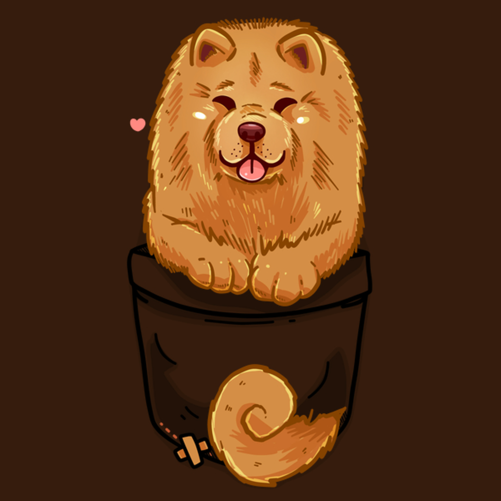 NeatoShop: Pocket Cute Chow Chow Dog