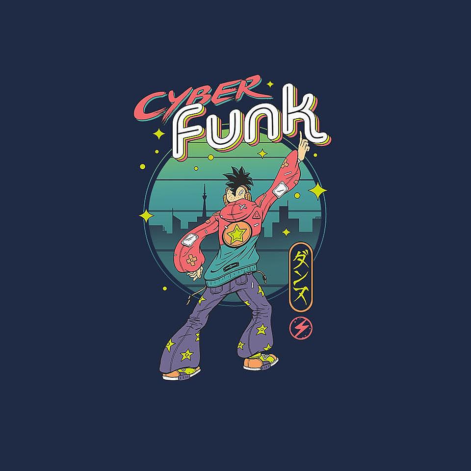 TeeFury: Cyber Funk!