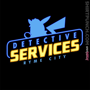 ShirtPunch: Ryme City Detective Services