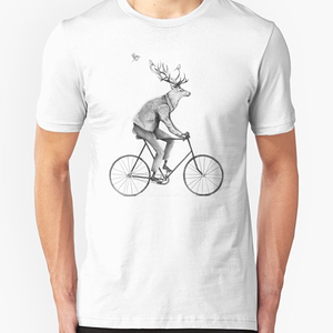 RedBubble: Even a Gentleman rides