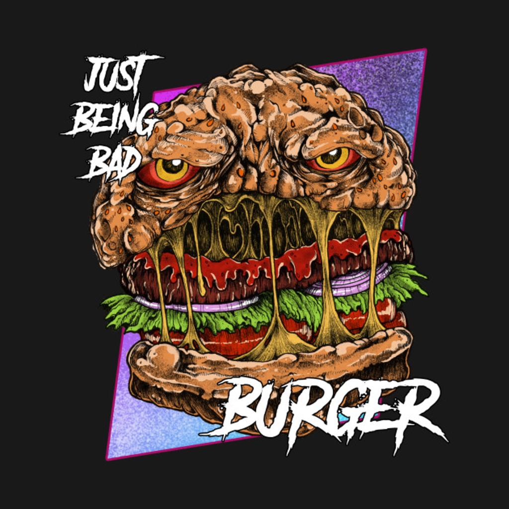 TeePublic: Burgermonster