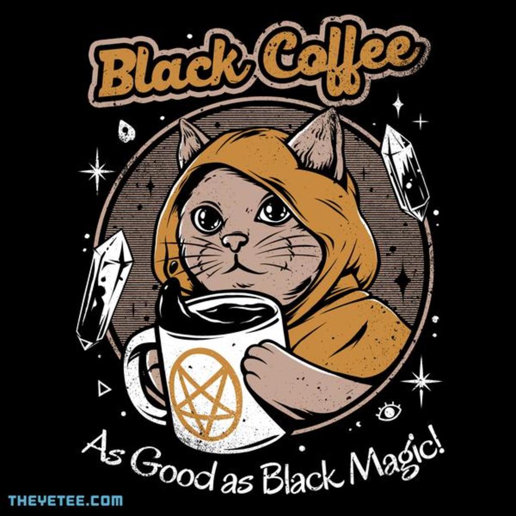 The Yetee: Black Coffee