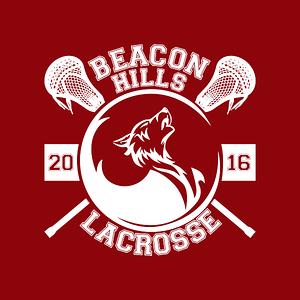 NeatoShop: Beacon Hills lacrosse (red)