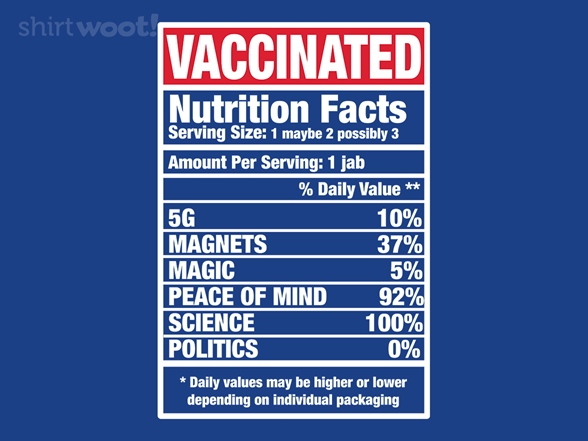 Woot!: Nutrition Facts