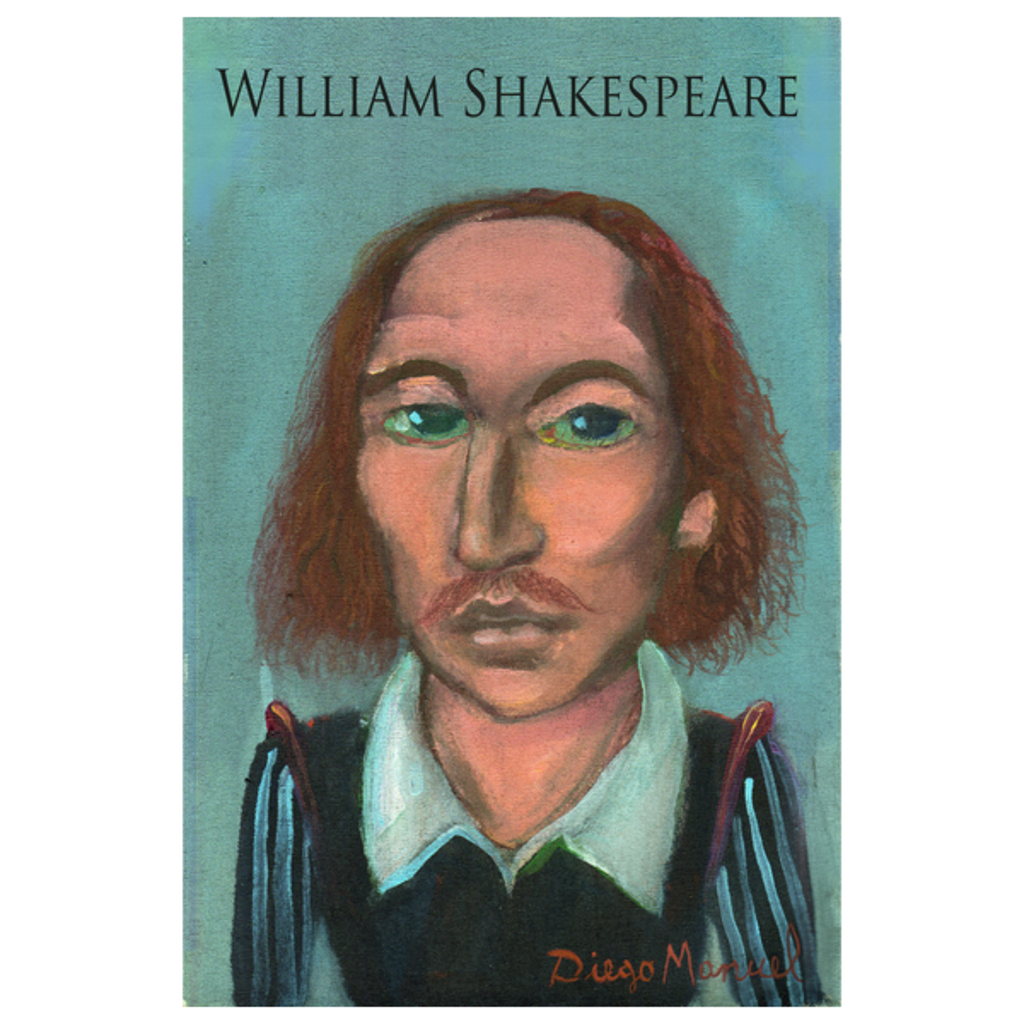 NeatoShop: William Shakespeare portrait B