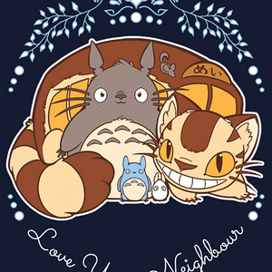 Qwertee: Love Your Neighbour